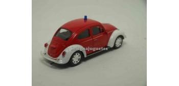 Volkswagen Beetle Bomberos escala 1/43 Welly