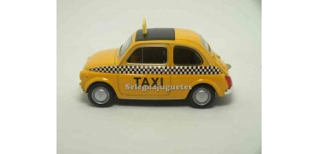 coche miniatura Fiat 500 nuova Taxi escala 1/43 Welly