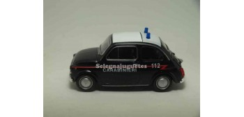 lead figure Fiat 500 nuova Carabinieri scale 1:43 Welly
