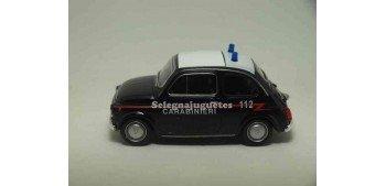 Fiat 500 nuova Carabinieri scale 1:43 Welly