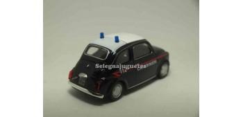 Fiat 500 nuova Carabinieri escala 1/43 Welly