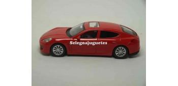 miniature car Porsche Panamera Turbo Red 1/43 rmz
