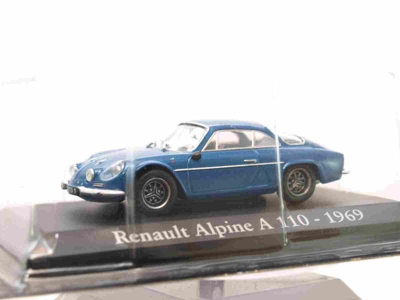1//43 COCHE RENAULT ALPINE A 110 1969 IXO RBA METAL MODEL CAR 1:43 MINIATURA