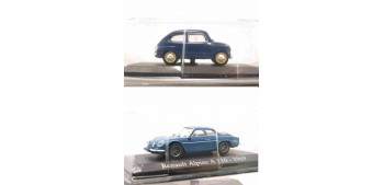 2x1 Lote: Fiat 600 1957 + Renault Alpine A110 1969 escala 1/43 Ixo - Rba Altaya
