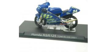 miniature motorcycle Honda RSR 125 Toni Elias 2001 1/24 Ixo