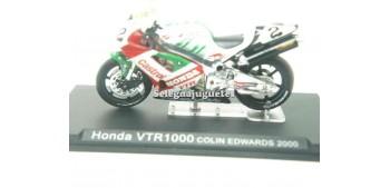 miniature motorcycle Honda VTR 1000 Colin Edwards 2000 1/24 Ixo