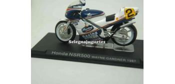 miniature motorcycle Honda Nsr500 Wayne Gardner 1987 1/24 Ixo