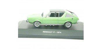 coche miniatura Renault 17 1974 1/43 Solido