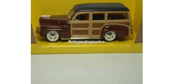 miniature car Ford Woody 1948 Brow 1/43 Lucky Die Cast