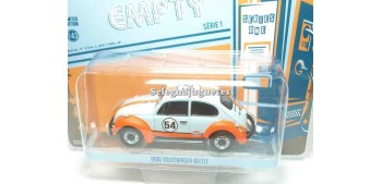 coche miniatura VolkswagenBeetle 1966 Gulf 1/43 Greenlight