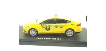 miniature car Ford Fusión 203 Taxi Nueva York 1:43 Greenlight
