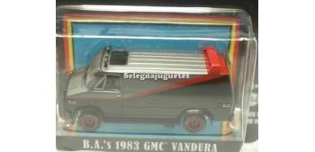 miniature car Gmc Vandura 1983 A Team 1/64 Greenlight