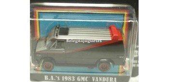 Gmc Vandura 1983 A Team 1/64 Greenlight
