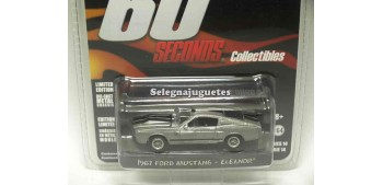 miniature car Ford Mustang Eleanor 1967 Gone in 60 seconds 1/64