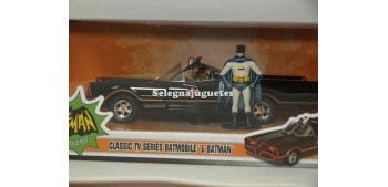 coche miniatura Batmobile Batman Classic TV Series 1/24 Jada