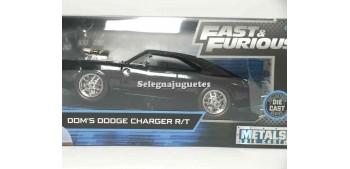 coche miniatura Dom`s Dodge Charger R/T Fast & Furious 1/24 Jada