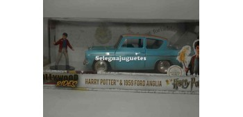 coche miniatura Ford Anglia 1959 Harry Potter 1/24 Jada