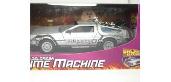miniature car De Lorean DMC 12 Regreso al Futuro 1/24 Welly
