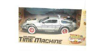 coche miniatura De Lorean DMC 12 Regreso al Futuro III 1/24