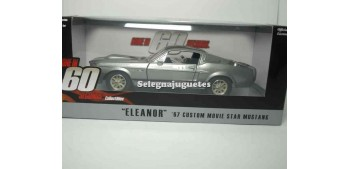 miniature car Ford Mustang Eleanor 1967 Gone in 60 seconds 1/24