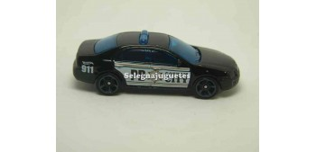 miniature car Ford Fusión Batman Police 1/64 Hot Wheels without