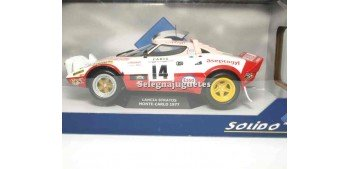 lead figure Lancia Stratos Monte-Carlo 1977 Dacremont 1/18