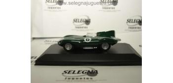 Jaguar D-Type 1956 escala 1/43 Ediciones del Prado coche miniatura metal Ediciones del Prado