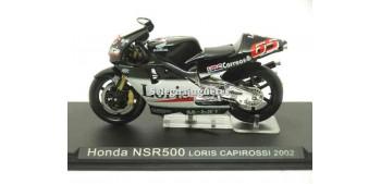 miniature motorcycle Honda NSR500 Loris Capirossi 2002 1/24 Ixo