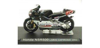 moto miniatura Honda NSR500 Loris Capirossi 2002 1/24 Ixo
