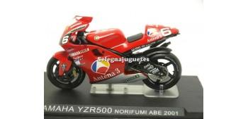Yamaha YZR500 Norifumi Abe 2001 escala 1/24 Ixo moto miniatura metal Ixo