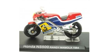 miniature motorcycle Honda NS 500 Randy Mamola 1984 1/24 Ixo