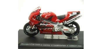 Honda VTR1000 W. Costes - S. Charpentier - S. Gimbert 1/24 Ixo moto miniatura metal Ixo