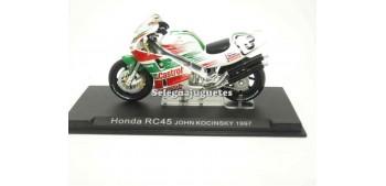 miniature motorcycle Honda RC45 John Kocinsky 1997 1/24 Ixo