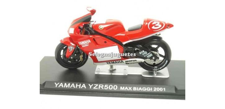 Yamaha YZR500 Max Biaggi 2001 1/24 Ixo moto miniatura metal Ixo