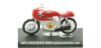miniature motorcycle MV Agusta 500 John Surtees 1956 scale 1/24
