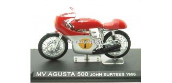 MV Agusta 500 John Surtees 1956 1/24 Ixo moto miniatura metal Ixo