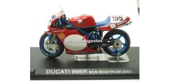 Ducati 996R Ben Bostrom 2001 1/24 Ixo moto miniatura metal Ixo
