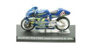moto miniatura Suzuki RGV500 Kenny Roberts Jr 2000 1/24 Ixo
