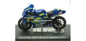 moto miniatura Suzuki GSV R Sete Gibernau 2002 1/24 Ixo
