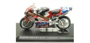 Suzuki Gsx R Guyot - Scarnato - Dussauge 2001 escala 1/24 Ixo moto miniatura metal Ixo