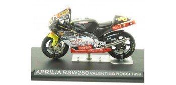 Aprilia Rsw250 Valentino Rossi 1999 escala 1/24 Ixo moto miniatura metal Ixo