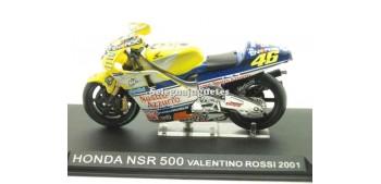 miniature motorcycle Honda Nsr 500 Valentino Rossi 2001 1/24 Ixo