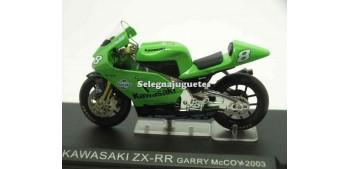 lead figure Kawasaki ZX-RR Garry McCoy 2003 1/24 Ixo