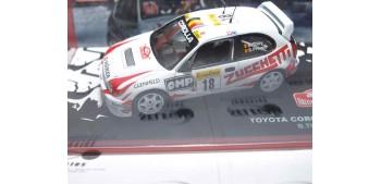 miniature car Toyota Corolla WRC Thiry - Prévot Montecarlo 2000