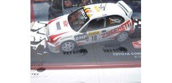Toyota Corolla WRC Thiry - Prévot Montecarlo 2000 escala 1/43 Altaya Coche metal miniatura Ixo