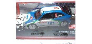 Citroen Xsara WRC Stohl - Minor Montecarlo 2005 escala 1/43 Altaya Coche metal miniatura Ixo