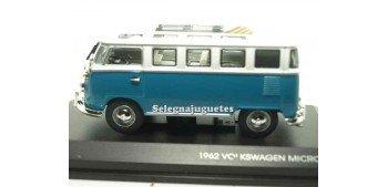 maquetas de coches Volkswagen microbus 1962 1/43 Yat ming