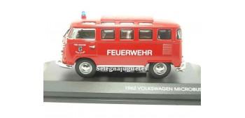 miniature car Volkswagen Microbus 1962 Feuerwehr 1/43 Yat Ming