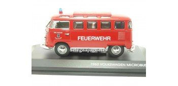 Volkswagen Microbus 1962 Feuerwehr 1/43 Yat Ming