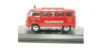 Volkswagen microbus 1962 Feuerwehr (Bomberos) 1/43 yat ming